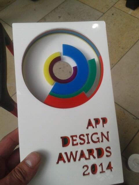 WE DID IT! @rokkmedia have won UK App Design Award 2014! Speechless and so proud. Our first national award!! http://t.co/9aDAqaBPoZ