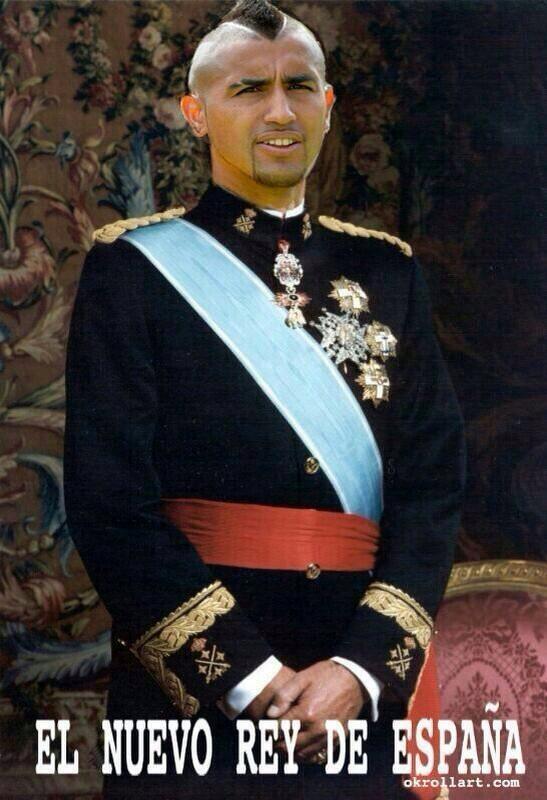 Los mejores memes que va dejando el encuentro de #CHI V/S #ESP  España tiene nuevo Rey. http://t.co/McVT2ZBVVJ