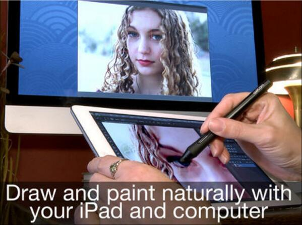 And… Air Stylus is live. https://t.co/0mBsMjMh8C — Paint on your Mac screen with a pressure-sensitive pen, via iPad. http://t.co/QVywc3Lpdr