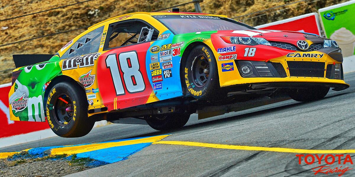 RT @toyotaracing: This weekend, #NASCAR turns right - & some do it on 2 wheels!!  RETWEET if you're stoked for the #TSM350 @RaceSonoma http…