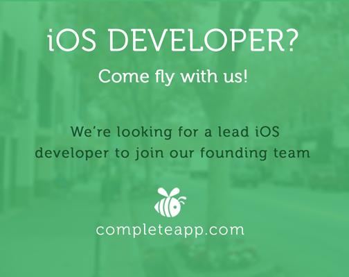 http://t.co/3wpcTOdNKo is hiring an #ios developer to join our founding team. #joblisting #JobOpening #hiring http://t.co/GAZOzjUTQl