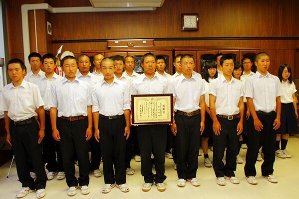 急病人を救助、十日町高校野球部に感謝状 http://t.co/dG7XeDOvyT #tokamachi #fm783 #oradoko http://t.co/z3sgIWLHAA