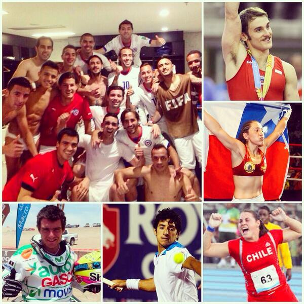 Un Nuevo Chile! #VamosChile #Triunfadores http://t.co/048tQf48Z5