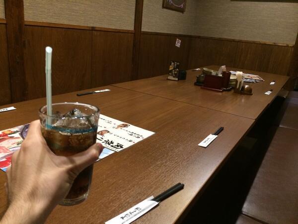 飲み会なう!みんなで写真撮った!まぢ楽しぃ笑 やっぱ大勢で飯食うて楽しいね(σ゚∀゚)σ http://t.co/1m1DKPxoSH