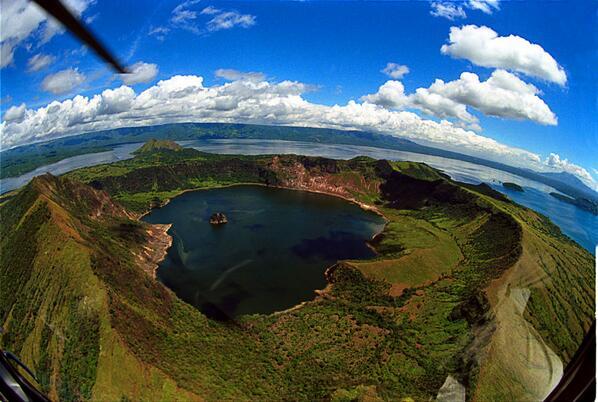 AN ISLAND, WITHIN A LAKE, IN A VOLCANO, IN A LAKE, ON AN ISLAND... http://t.co/CV2Zx48jJu http://t.co/flZ9LPETU5