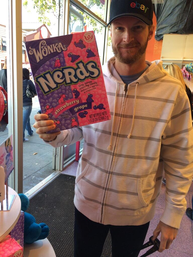 '@DaleJr: Too many nerds make belly hurt. http://t.co/IeH4OS6Gc8' Shut up and take my money. Here's a check. Write any amount you wish. ?
