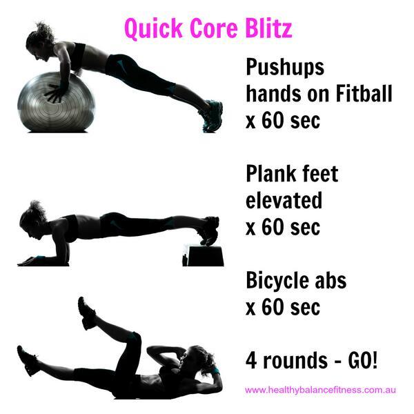 Un entrenamiento rápido para tu core con sólo 3 ejercicios, pero bien intensos, ¡prueba! http://t.co/WxdmCVDeMh