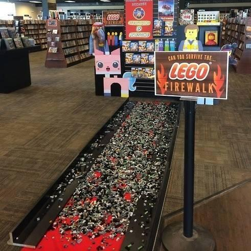 psy @psy: O.O; RT @GeorgeTakei: From a fan. The LEGO Firewalk is more treacherous than any fire... http://t.co/NdkifkSFa7