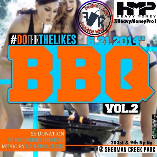 The #BBQ this #Saturday will be crazy.  RT if u coming http://t.co/cGa2SoQhG0