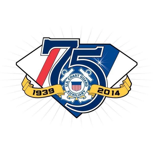 1/2 On June 23, 2014, USCG Auxiliarists around the nation will be celebrating the Auxiliary's 75th Anniversary. http://t.co/wEl8XttROa