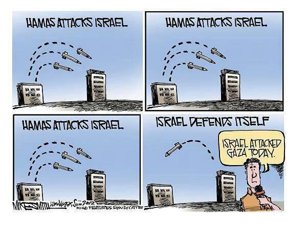 A rocket was fired from Gaza at Israel Thursday night-- the 15th one this week. SHARE THIS because the media will not http://t.co/8Lq3xNGrit