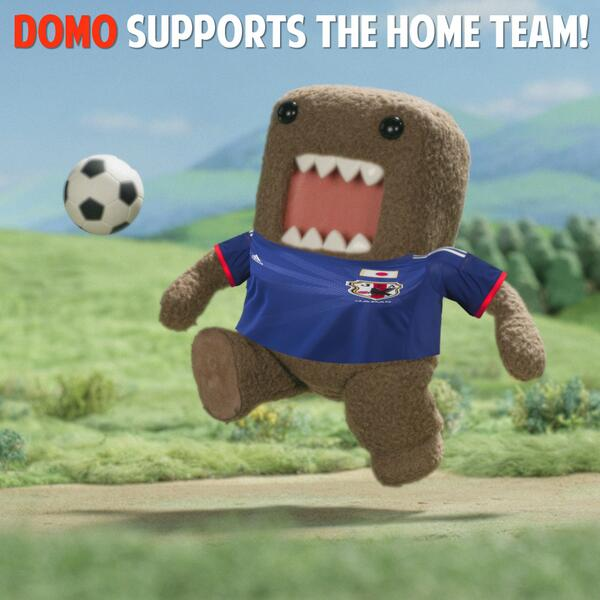 Go Team Japan! #WorldCup2014 #Domodinho #TeamJapan #futbol #BecauseFutbol #FifaWorldCup http://t.co/R51QioLL0b