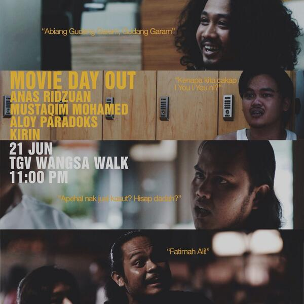 Movie day out special bsama unsung hero #FilemCEO Jom sokong mereka supaya terus bikin karya yg best utk rakyat Msia http://t.co/keqQ8gg2w3