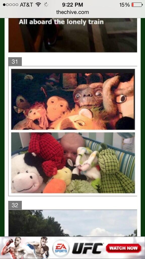 My friend @leg_turkey told me that the E.T. pic of my son made the chive today.  Made me smile for sure. http://t.co/1zTnPCQPvG