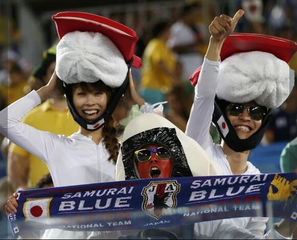 ブラジルにも寿司くん。 http://t.co/nIdC25gdri