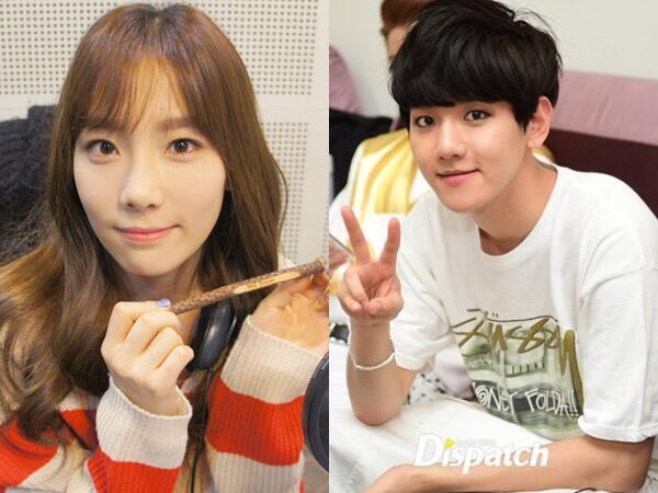 EXO's Baekhyun and SNSD's Taeyeon 2014 Couple - YouTube