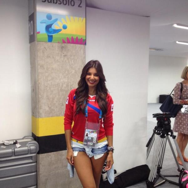 Bqk iaOIgAAEsP8 Introducing Costa Rican reporter Jale Berahimi, who is quickly becoming a viral hit at the World Cup [Pictures]