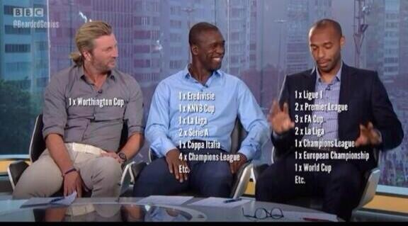 How do the other pundits take Robbie savage serious though ???
