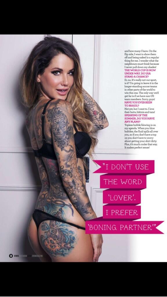 Wanna see more? Download the app from @ZOO wanna see uncensored!? Buy the magazine!! http://t.co/DenwRJCSRl