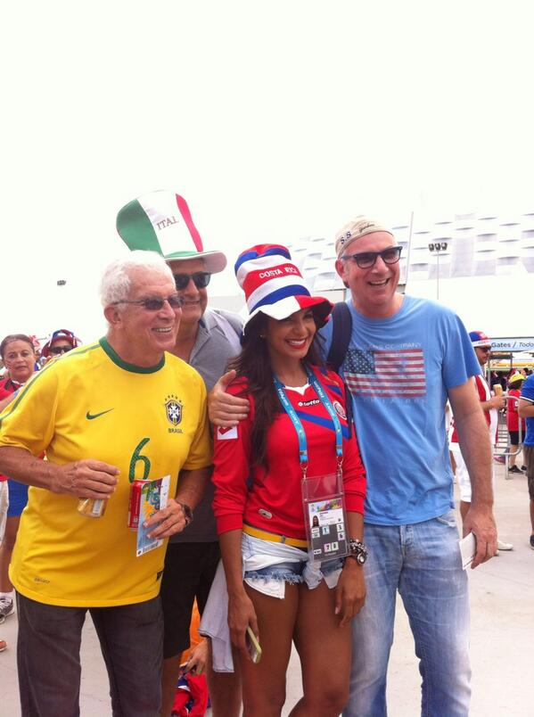 BqlRCkdCYAAsVnH Introducing Costa Rican reporter Jale Berahimi, who is quickly becoming a viral hit at the World Cup [Pictures]
