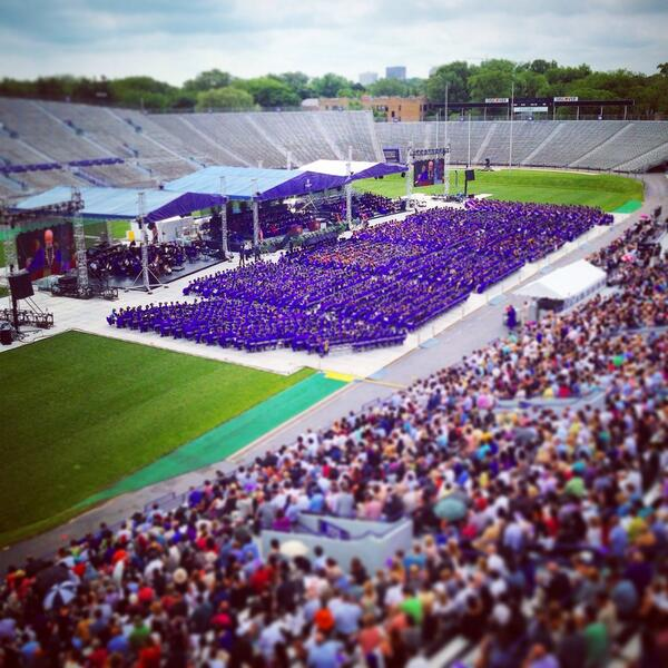 The absolute best kind of #NUPurpleFriday -- congrats #NUGrads! http://t.co/zb6EZTisko