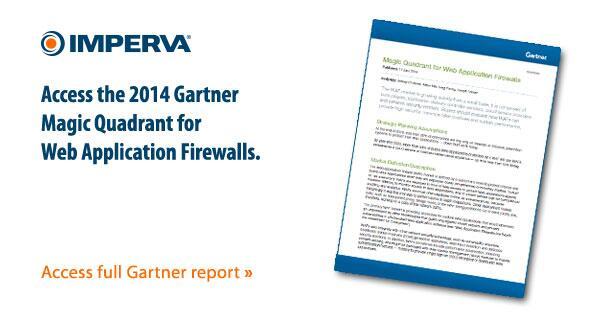Gartner, Inc. has released the 2014 Magic Quadrant for Web Application Firewalls | Read: http://t.co/tmpyHJVbgL http://t.co/wxSDEIjs6t