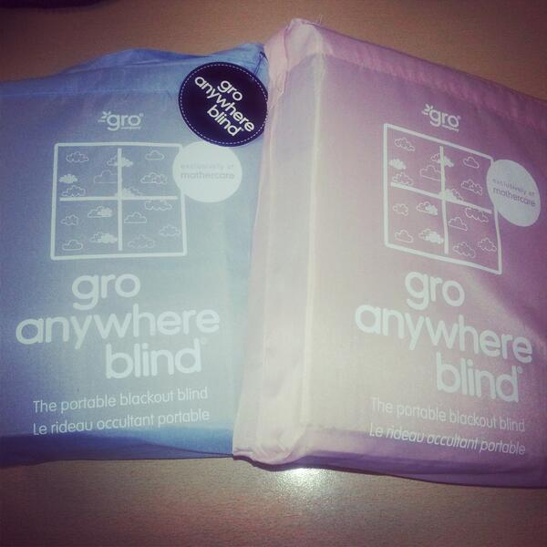 We have 2 portable blackout Gro blinds to give away for review.  To be in with a chance simply RT http://t.co/7LHzptfaHV