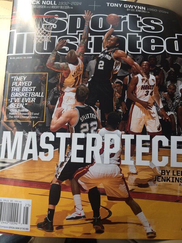I knew I will make the @SInow cover!! Hahaha Eu sabia que ia sair na capa da Revista Sports Illustraded!! Rs http://t.co/u7uDX5lDBv