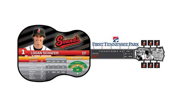 BREAKING: Sounds unveil @FirstTNPark guitar video board design! http://t.co/azgAHRYEYC
