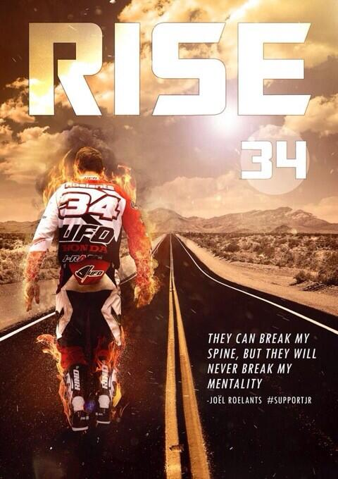 Very unfortunate in a sport were in things can happen.. one of the toughest riders around #Supportjr http://t.co/TEpWrvunR4