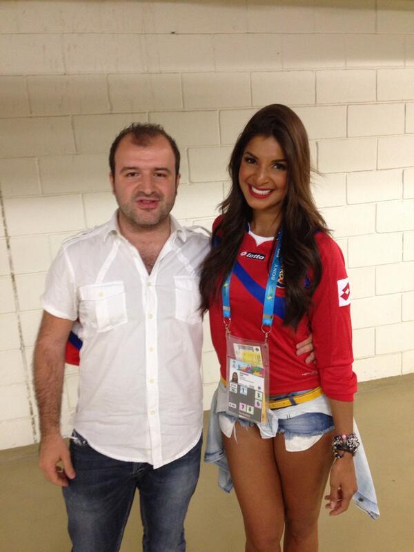Bqmeu4VIMAABONW Introducing Costa Rican reporter Jale Berahimi, who is quickly becoming a viral hit at the World Cup [Pictures]