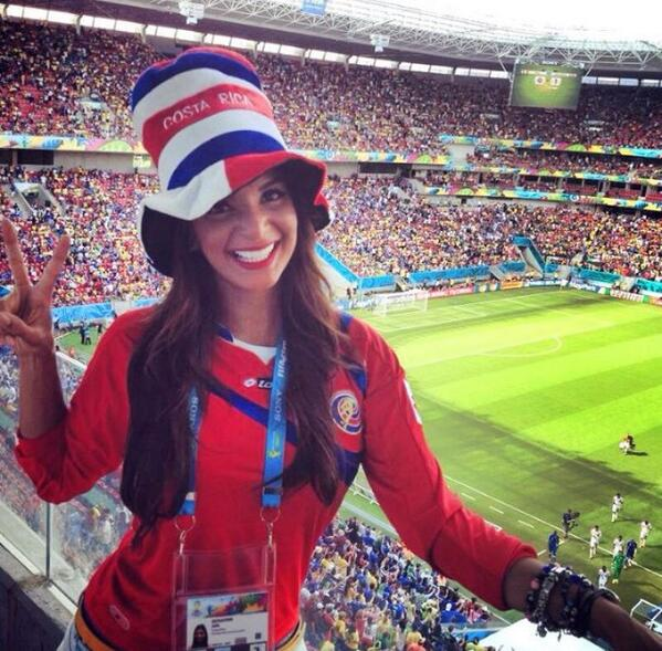 BqmhyCNIIAAo3nx Introducing Costa Rican reporter Jale Berahimi, who is quickly becoming a viral hit at the World Cup [Pictures]