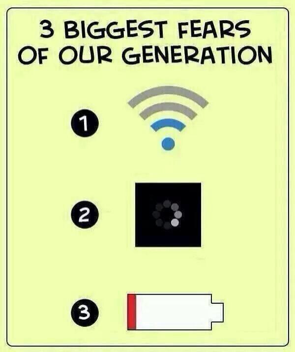 أكبر ثلاثة مخاوف في العصر الحديث. http://t.co/nUqT5A6FID