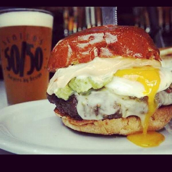 The sun's out, the game's on, the beer's cold, the burgers are hot. #whereyouat #WorldCup2014 http://t.co/j2sV51I3Ma