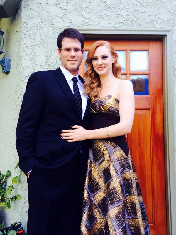 Yesterday was @DeborahAnnWoll and my 6 1/2 anniversary! Wow!! http://t.co/mnRxywvuW4