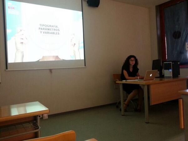 Sabina Chipara en si 'Comunicacion' Variables Tipograficas #6cit http://t.co/pTfMMddU2n