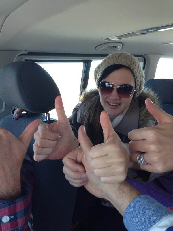 Today is international awareness day for MND. Please RT #ThumbsUpForMNDcure from the Du Plessis's! @9Joost http://t.co/LcHWBm7iFb