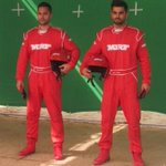 Ready to race with Gaurav Gill! http://t.co/OQmb6eLUZE