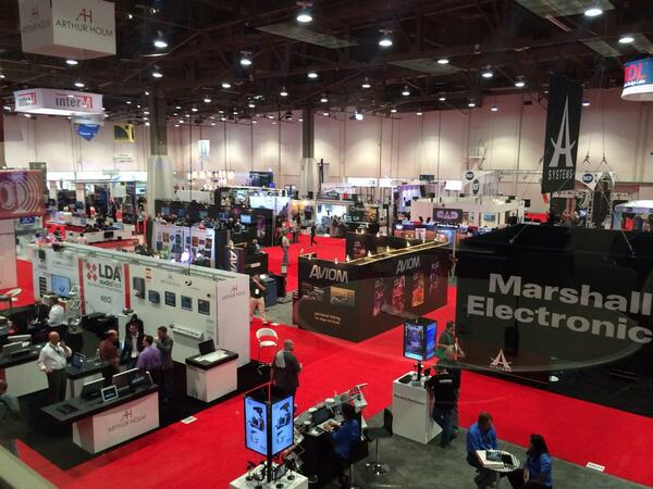The final show attendance for @InfoCommShow #InfoComm14 was 37,048. An all-time attendance record! http://t.co/tLK2JSpE21