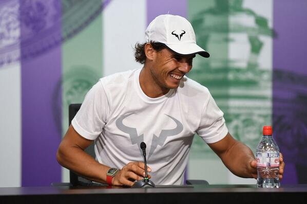 "Rafa Nadal: ""I'm feeling better this year than the last couple of years."" http://t.co/tJQTSXiPSv (Billie Weiss/AELTC) http://t.co/mWJkSFmK6i"