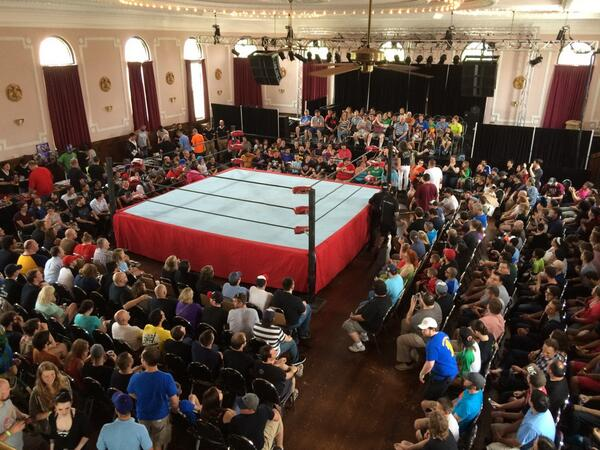 Today's office @CHIKARApro http://t.co/SQvHYcZ3hJ