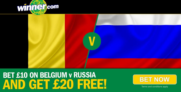 BqrjnqOCYAELj   EXCLUSIVE Betting Special! Belgium are a whopping 5/2 to beat Russia! [Enhanced odds]