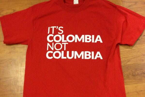 ICYMI (World Cup Edition): It's Colombia, not Columbia: Social campaign focuses on branding http://t.co/6GsfePkxip http://t.co/3ibQ8hjDug