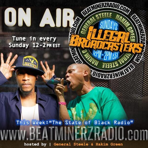 "Check out @Beatminerz_IBC tomorrow. ""STATE OF BLACK RADIO"" @angiemartinez @oldmanebro @lordjamar @STARFORCEHH http://t.co/th3z7hVKUN"