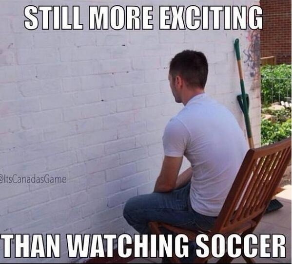 Still more exciting that watching soccer. Retweet if you agree. http://t.co/AlxqJuB2ew