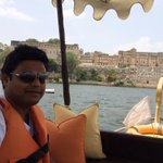 Good music and fun at Udaipur Lake and palace. It's an honour to be a part of the