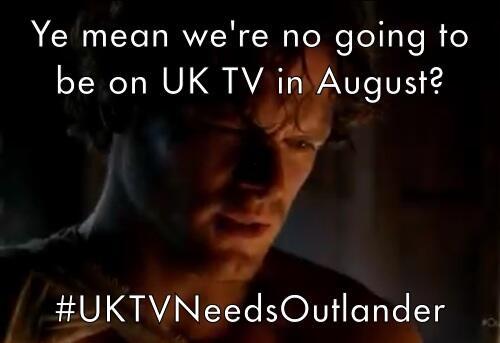 Jamie is devastated  #UKTVNeedsOutlander @Outlandish_UK @Outlander_Starz @LallybrochLaura @SonyUK @SonyUK @SonyUK http://t.co/FQuZcu04tQ