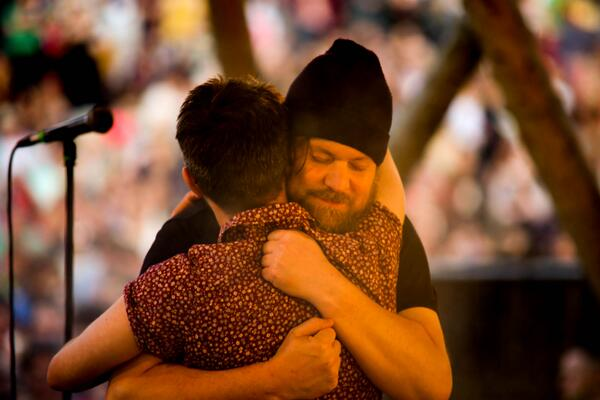Gorgeous duet from @johnwgrant and @wearevillagers last night on the Mainstage. A delight. #bodyandsoul2014 http://t.co/AcTj5qnf9V