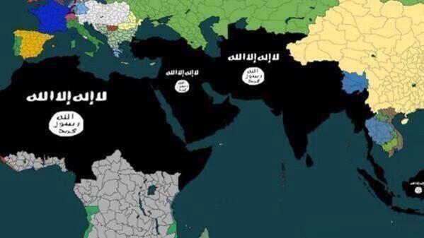 イラクシリアで大暴れ中のISISが今後5年間の領土拡張計画を大発表!