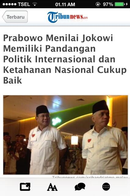 Standing applause for you. @jokowi_do2 http://t.co/2pIwAuxHv9